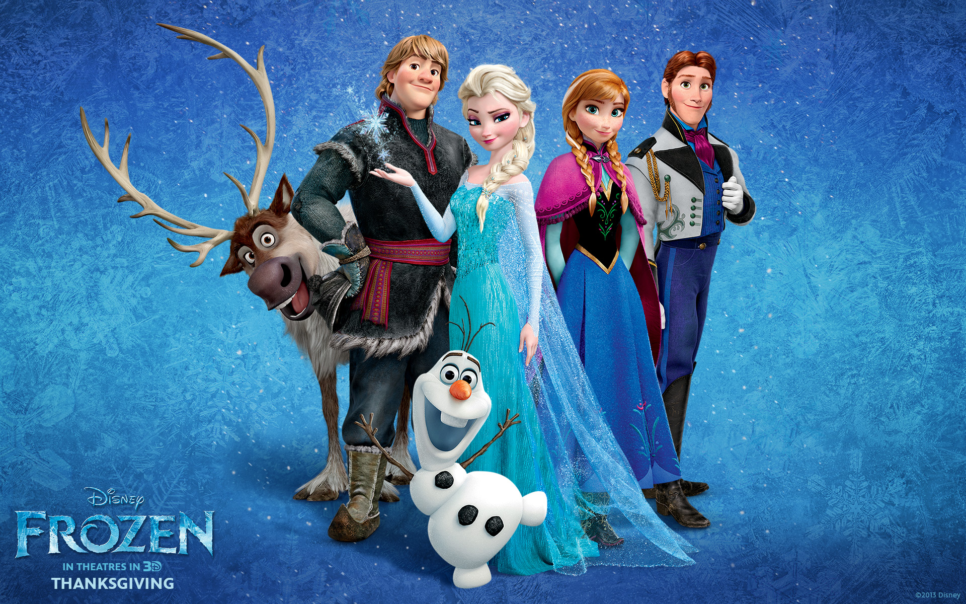 Disneys new animation film Frozen official wallpaper pack Movie 1920x1200