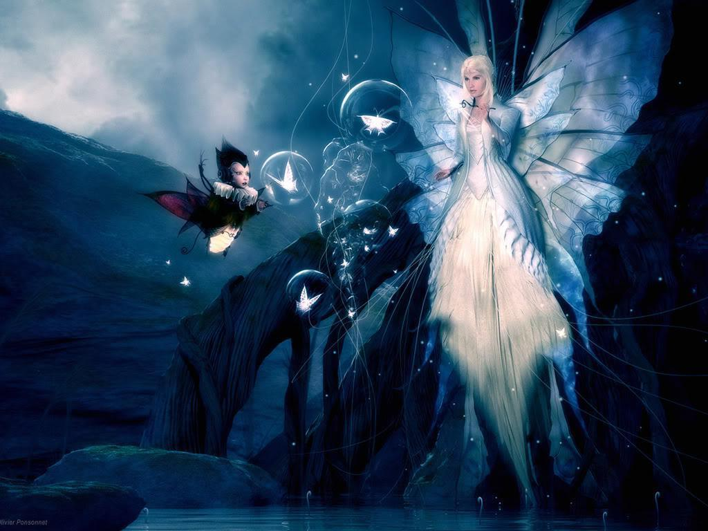 Fairy Bubbles Wallpaper   Fairies Wallpaper 10270471 1024x768