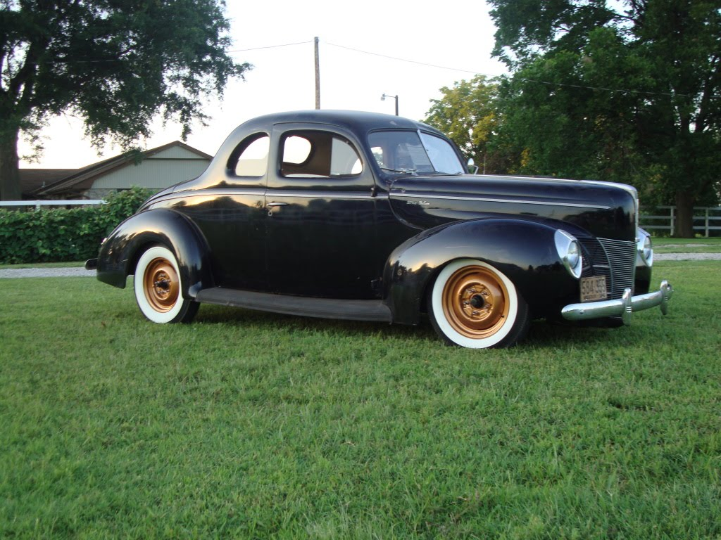 The Vintage Metal Blog For Sale or Trade 1940 Ford Coupe 1024x768