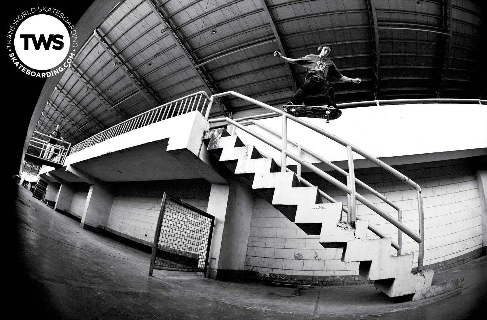 Wednesday Wallpaper Ryan Decenzo Transworld Skateboarding 1600x1050