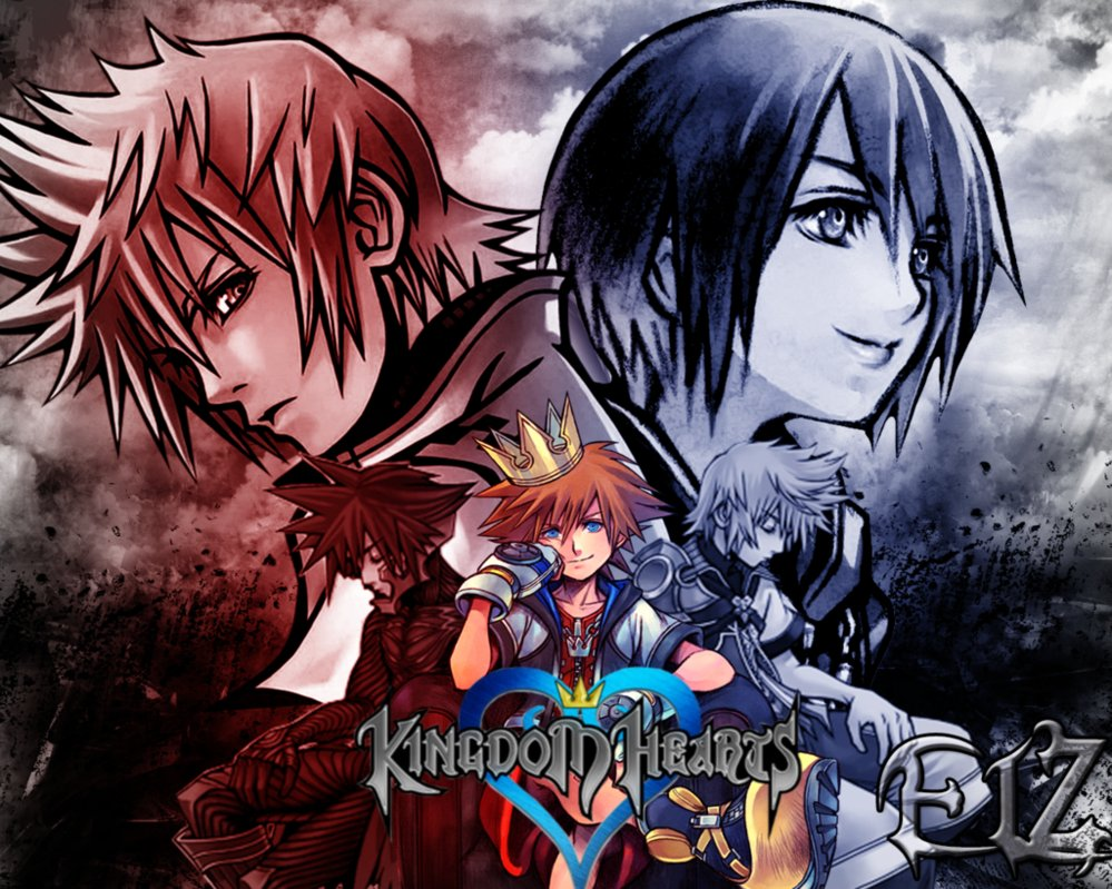 Wallpaper Kingdom Hearts by Danny X 999x799
