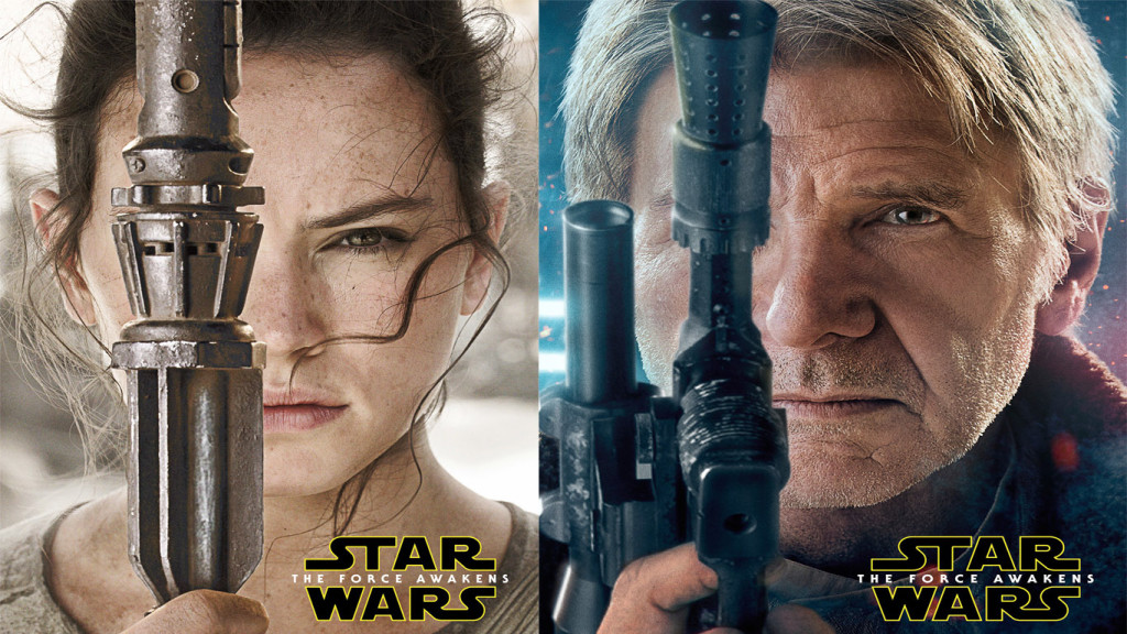 Download Rey And Han Solo Star Wars The Force Awakens HD Wallpaper 1024x576