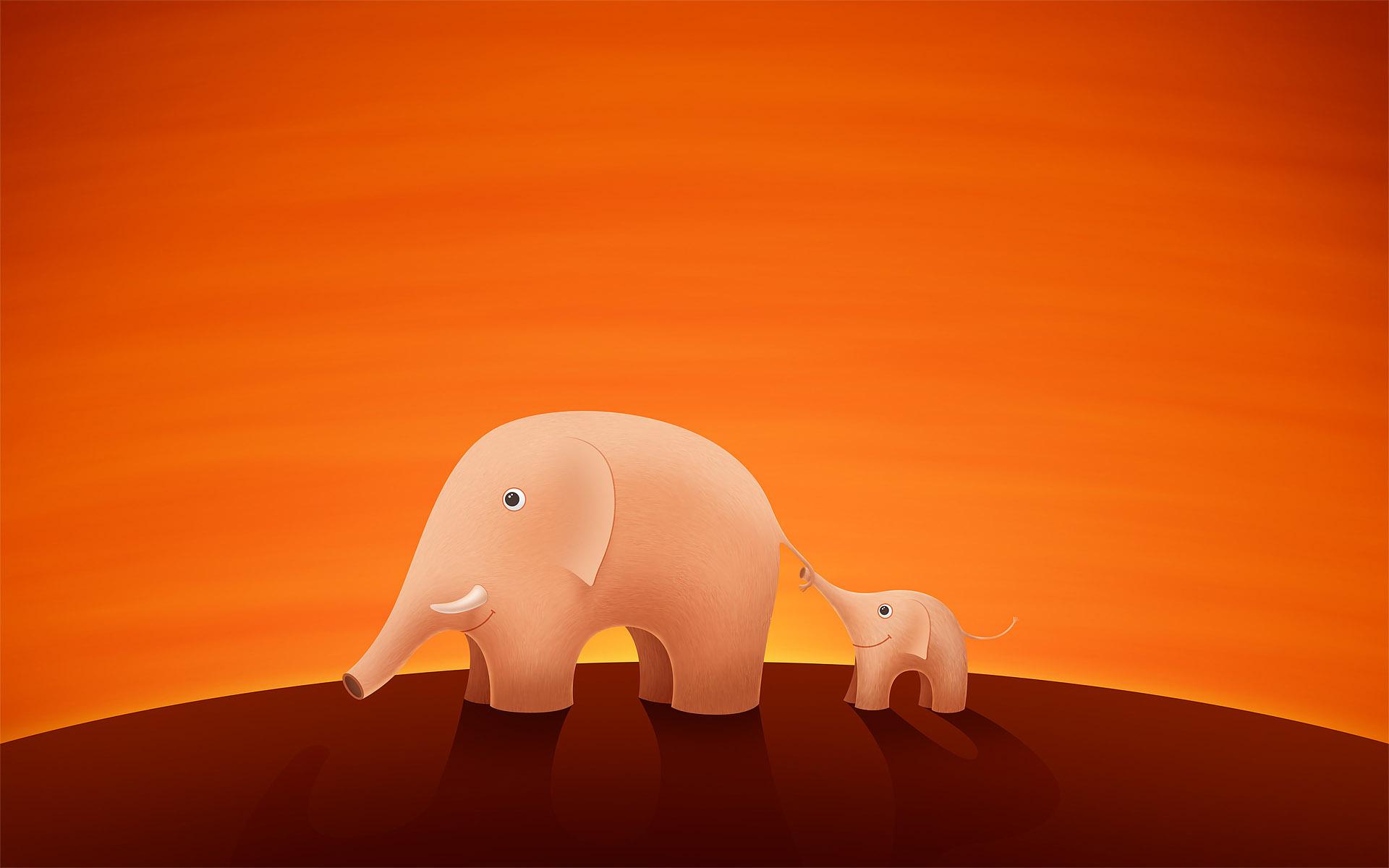 HD desktop wallpaper cartoon elephant High Definition Wallpapers HD 1920x1200