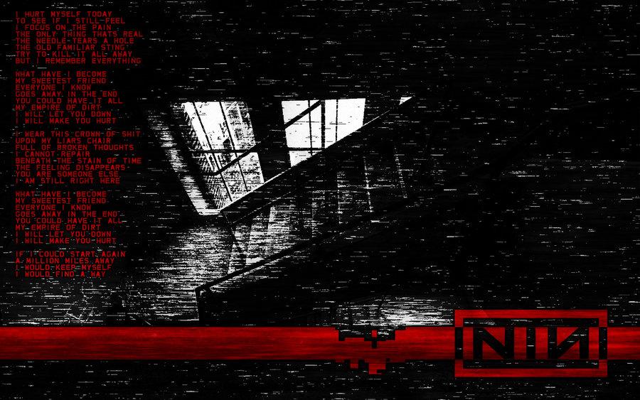 NIN Hurt Wallpaper by Full777Metal