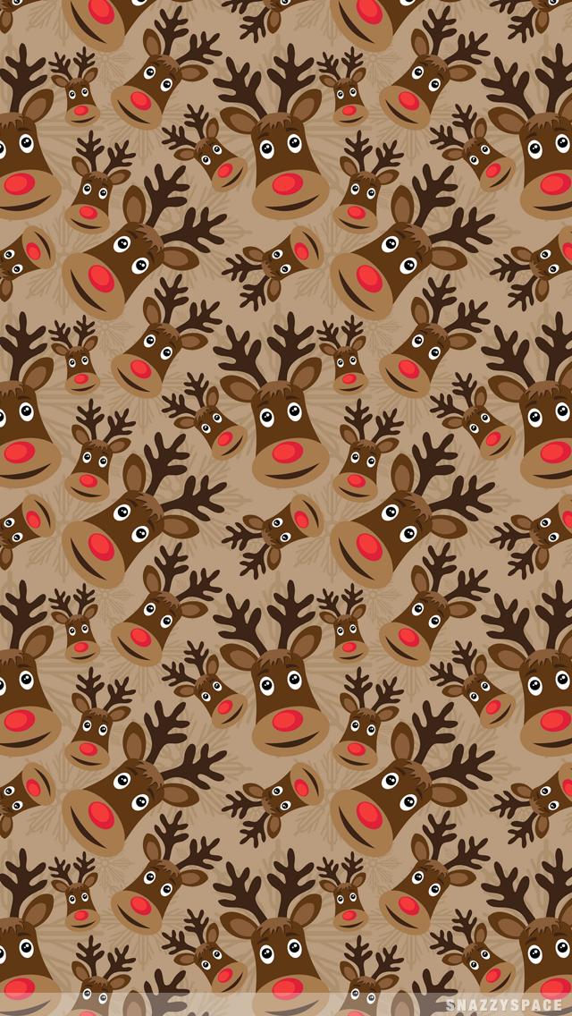 Cute Reindeer Wallpaper Wallpapersafari