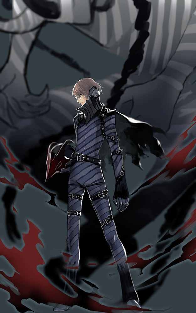 Persona 5 Goro Akechi Loki Persona 5 anime Persona 5 goro 625x1000