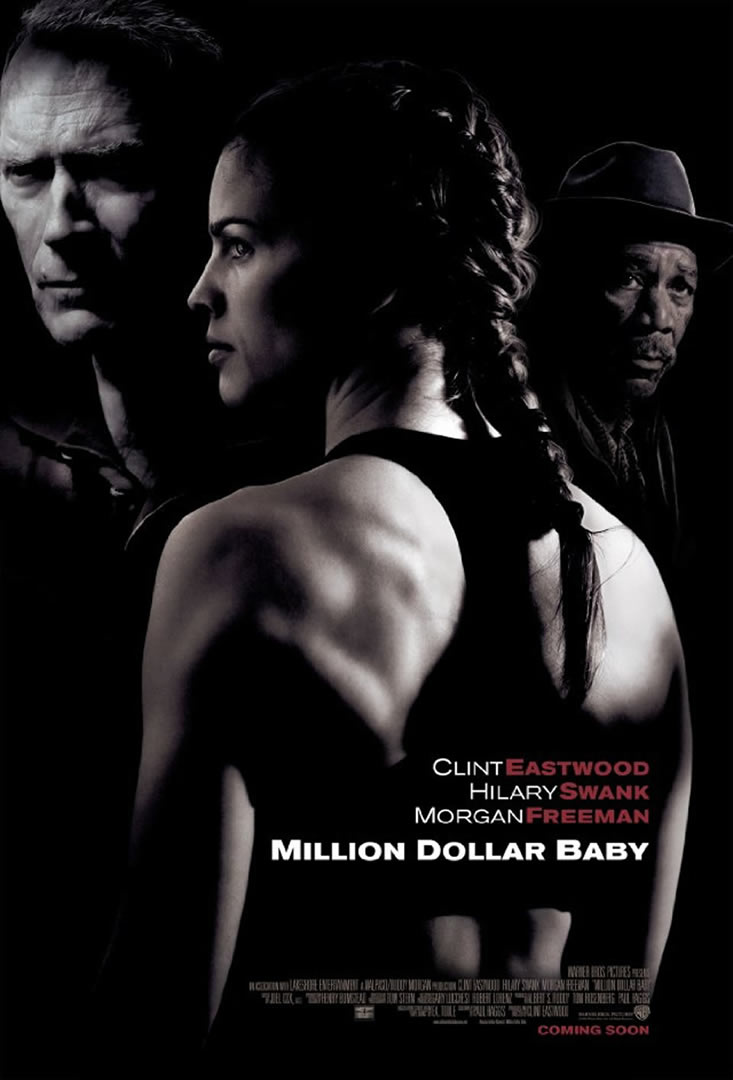 Million Dollar Baby   classic movie posters wallpaper image 733x1080