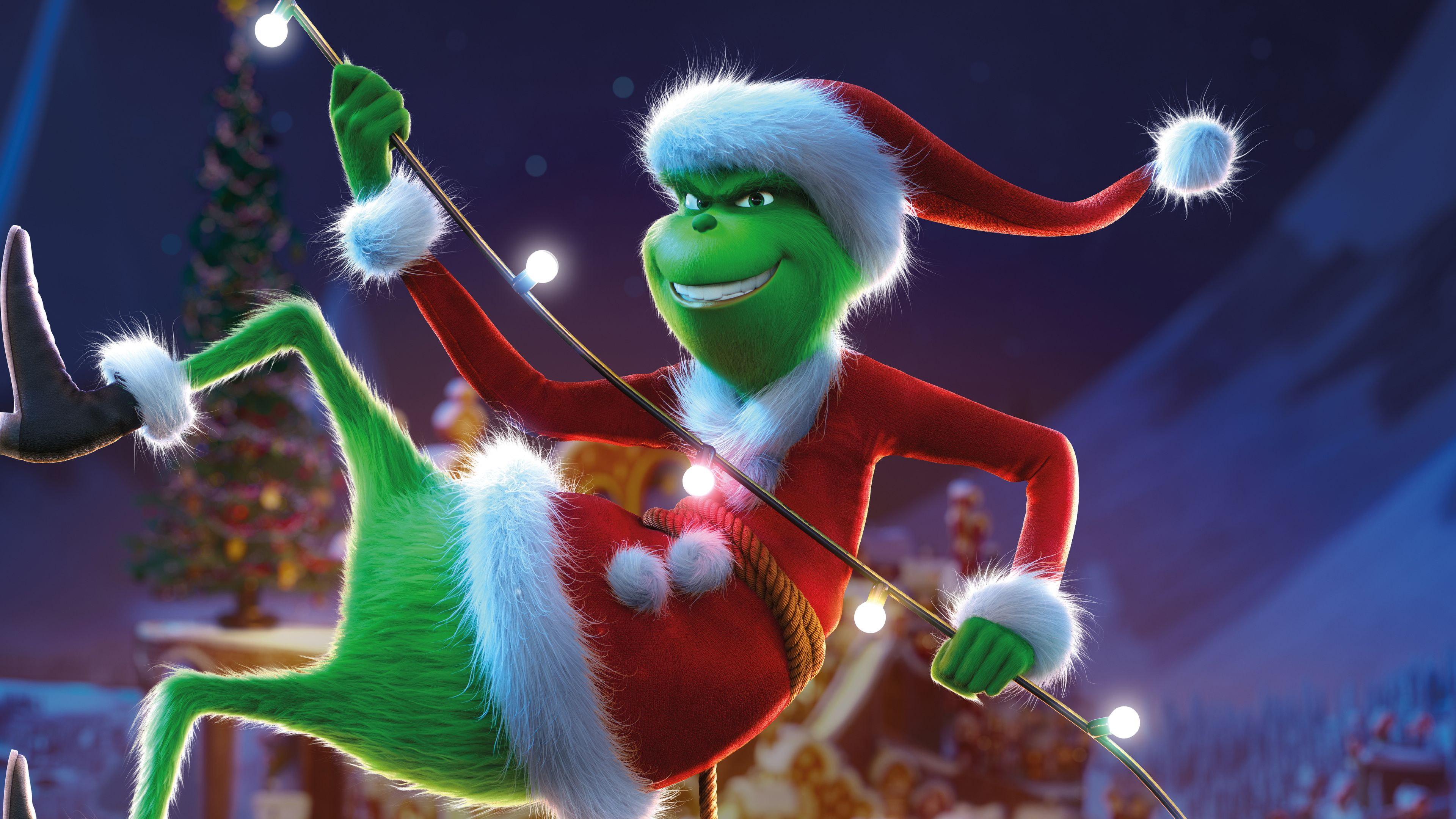 The Grinch 8k the grinch wallpapers movies wallpapers hd 3840x2160