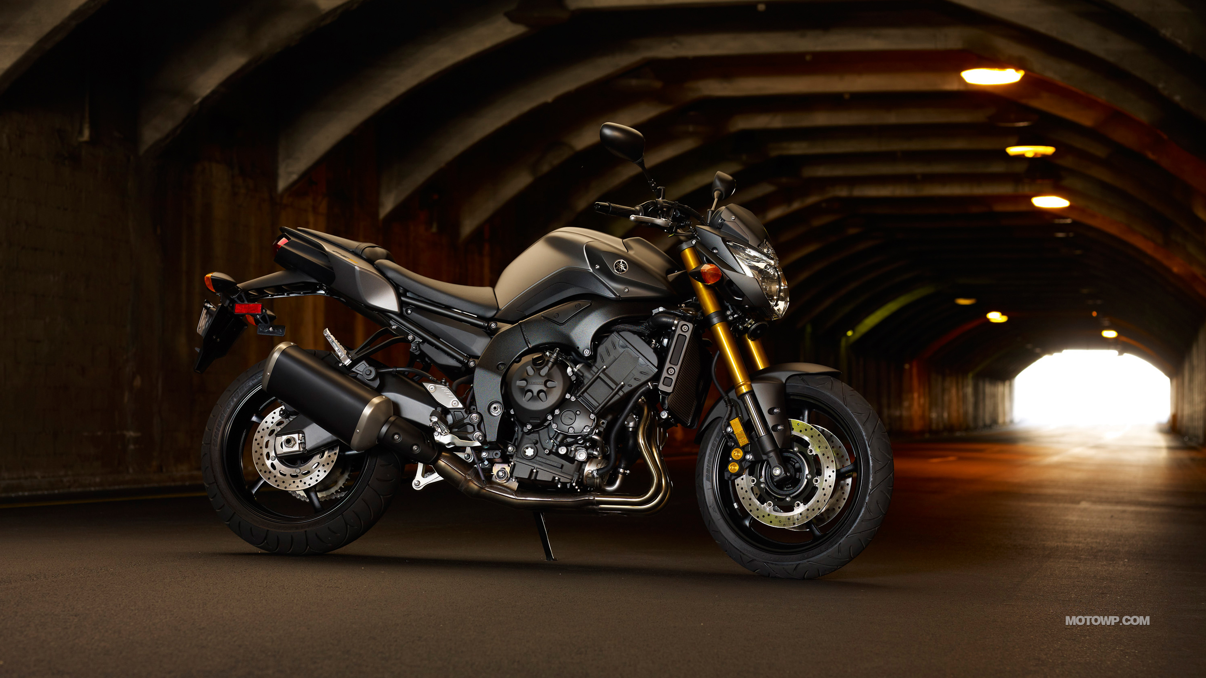 Motorcycles desktop wallpapers Yamaha FZ8   2012 3840x2160