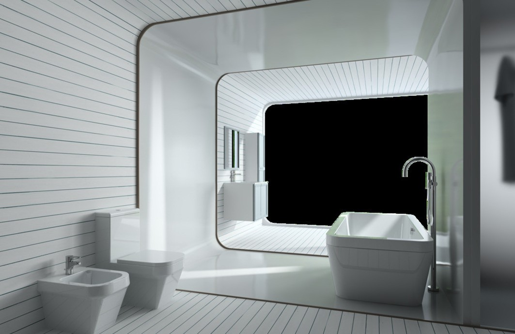 48 3d Bathroom Wallpaper On Wallpapersafari