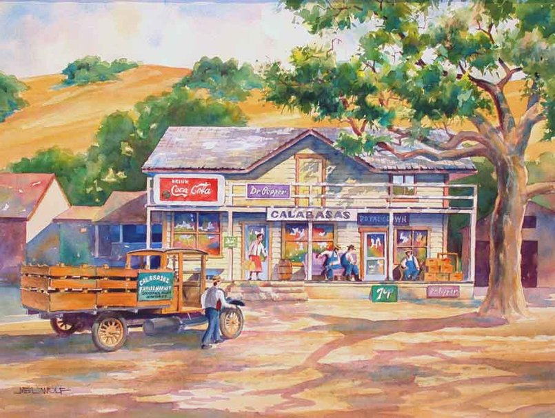 Country General Store wallpaper   ForWallpapercom 805x606