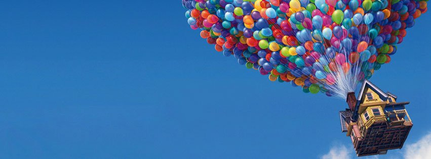 Flying Balloons Facebook Cover desktop wallpapers and stock photos 851x315