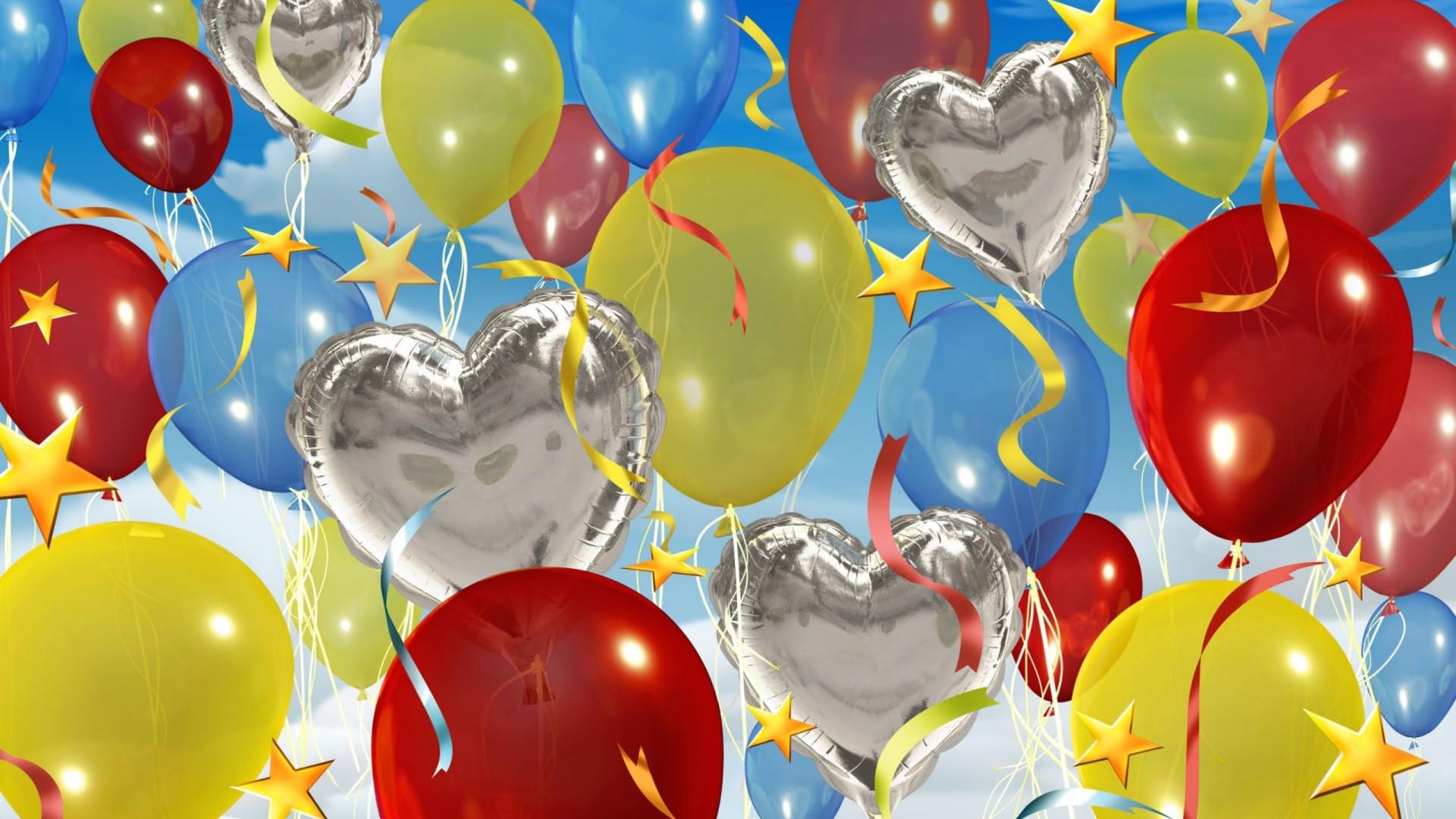 Happy Birthday Balloons Wallpaper 1056 1920x1080   uMadcom 1920x1080