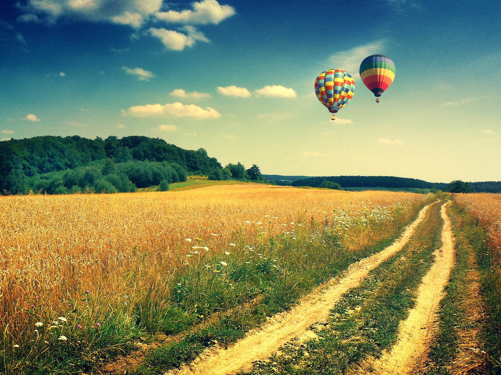 Tag Hot Air Balloons Wallpapers BackgroundsPhotos Images and 1600x1200