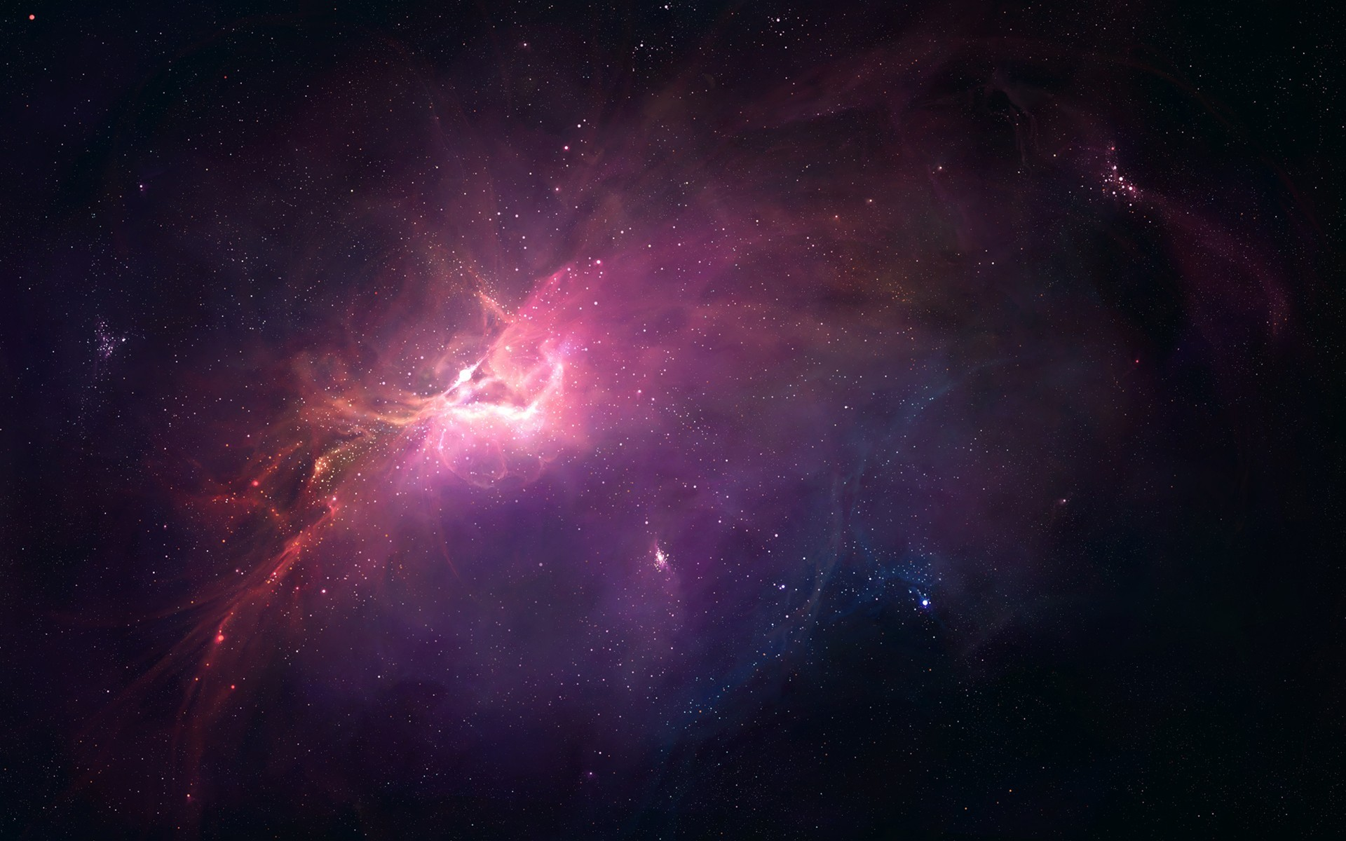 Outer Space Nebula Wallpaper images 1920x1200