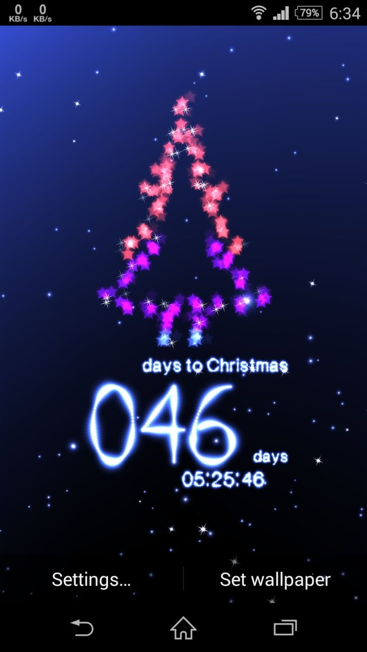 animated Christmas wallpaper app to get you excited for Christmas 720x1280