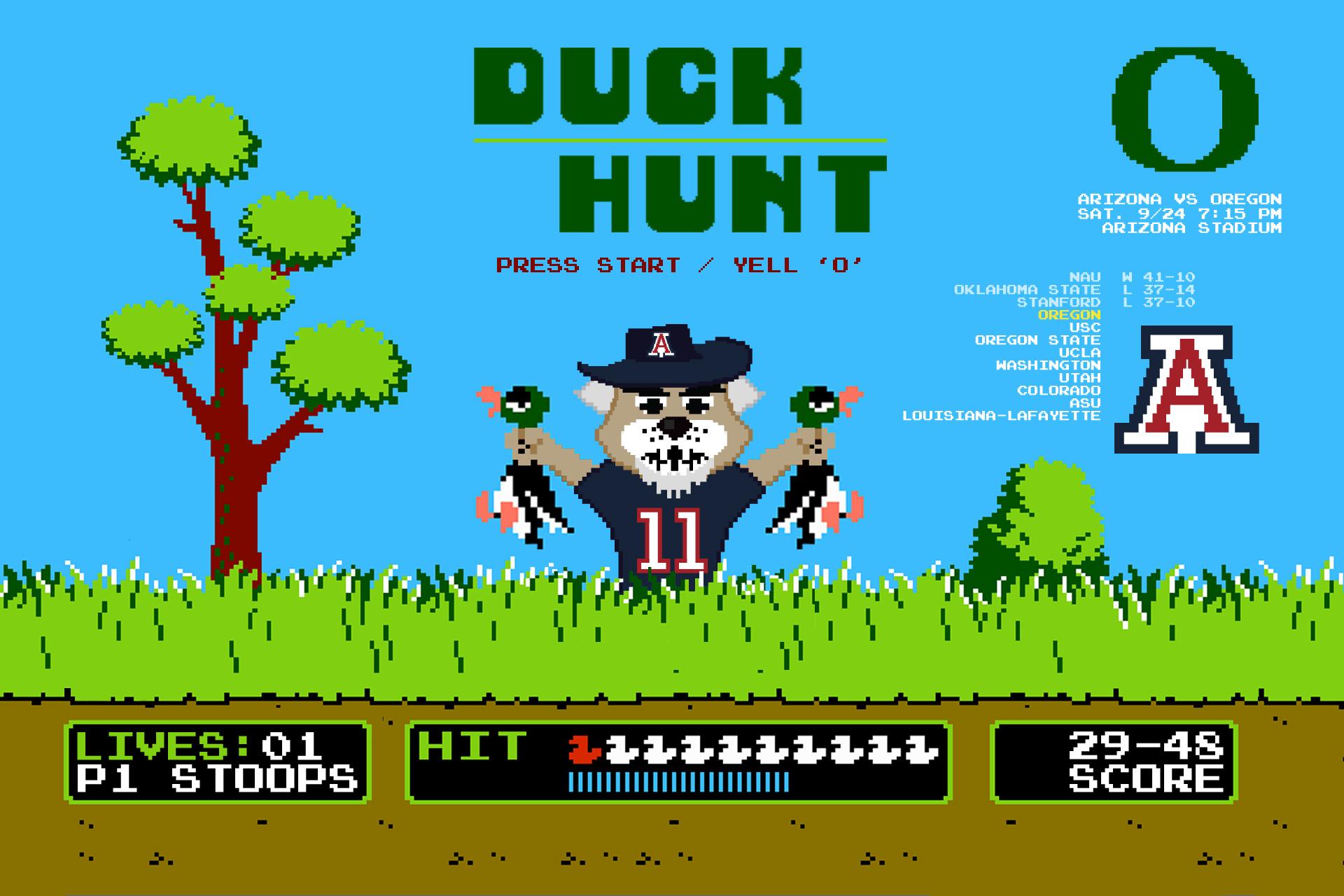 Arizona Wildcats Wallpaper Arizona wildcats go duck 1920x1280