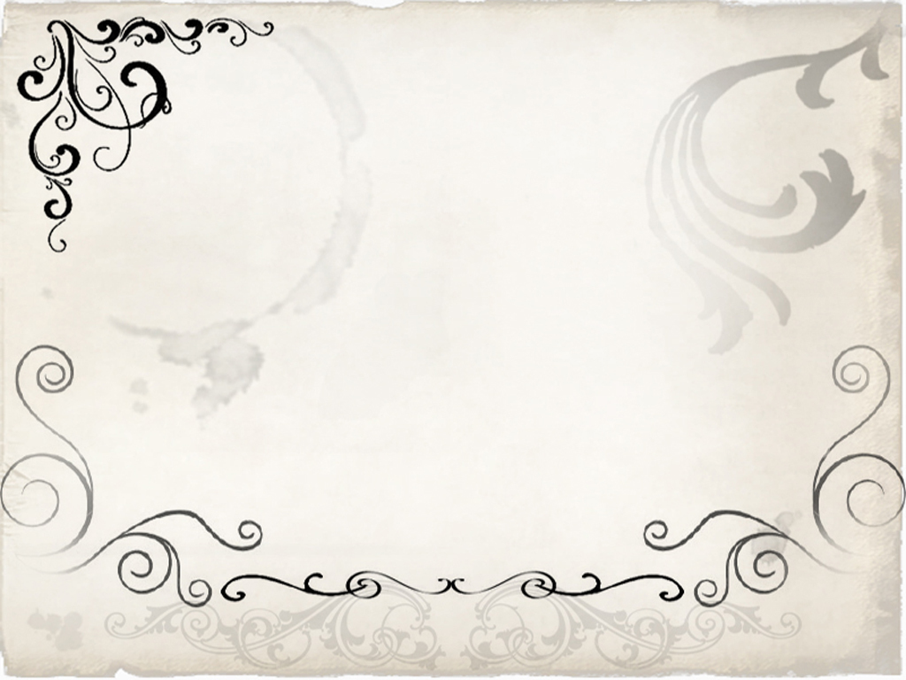 Floral Swirly Frame PPT Backgrounds for your PowerPoint Templates 1024x768