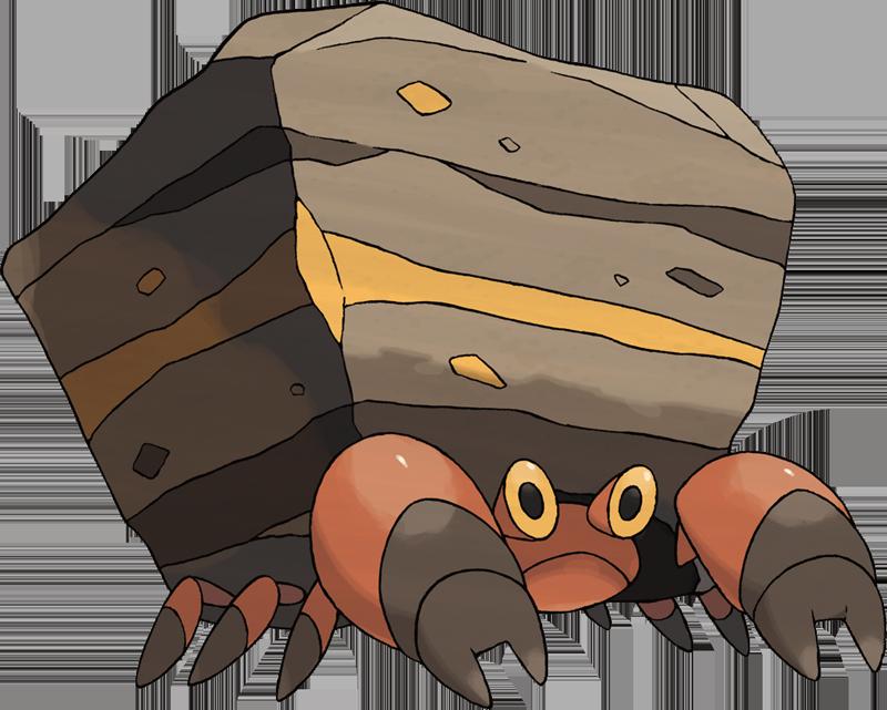 Pokemon 558 Crustle Pokedex Evolution Moves Location Stats 800x641