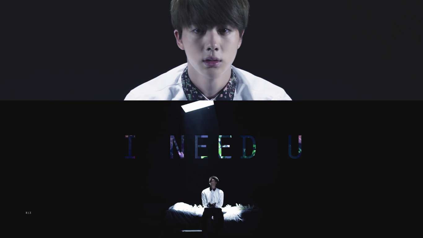 Jin wallpaper PC version I need u japanese MV by NikS3 1366x768
