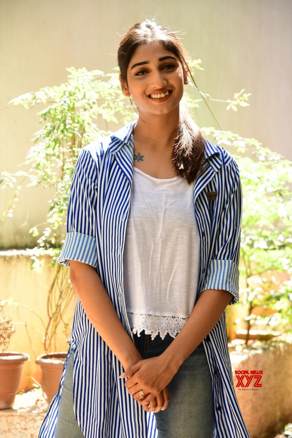 Actress Priya Vadlamani Stills From Husharu Movie Press Meet 1024x1536