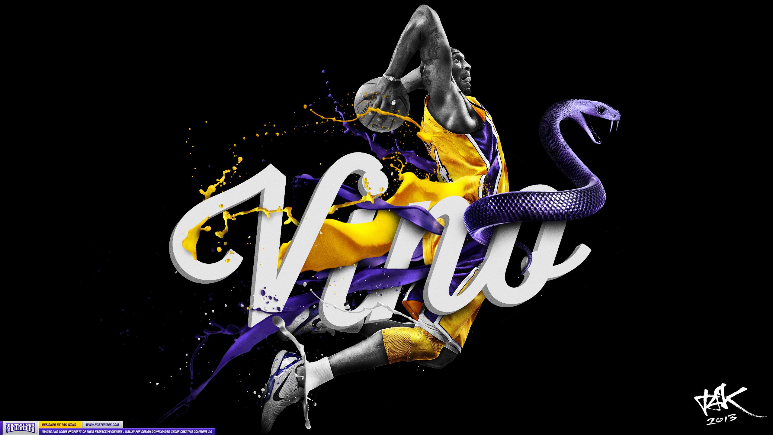 Kobe Vino Bryant Wallpaper Posterizes NBA Wallpapers 2560x1440