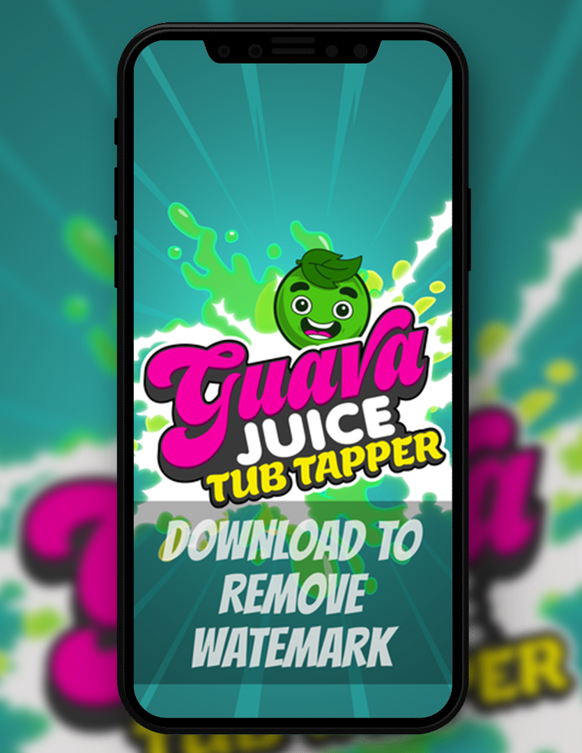 GJ Tub Tapper Logo Wallpaper Studio71 835x1080