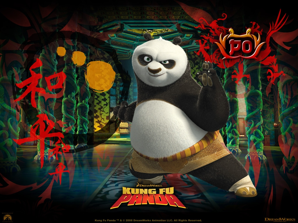 46 ] Kung Fu Panda Desktop Wallpaper On WallpaperSafari