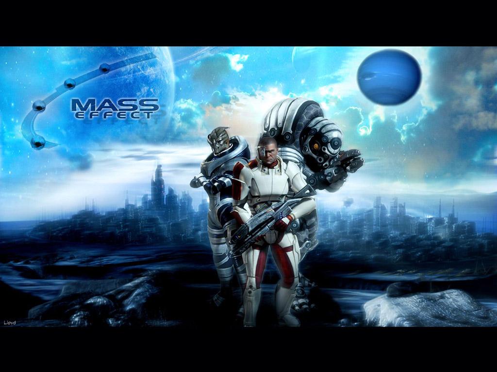 Mass Effect Wallpapers Cool Wallpapers 1024x768