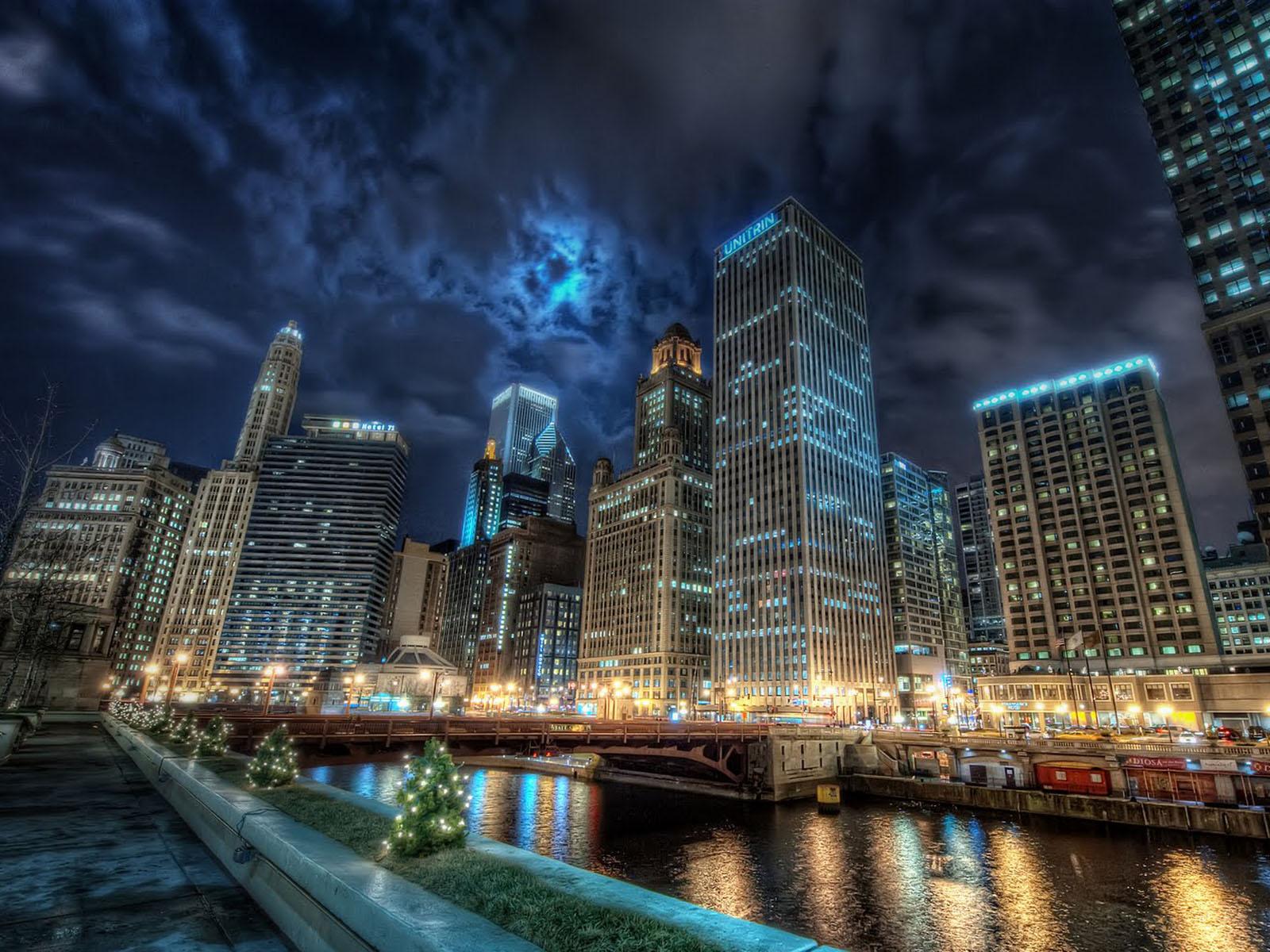 Beautiful Chicago City Wallpapers Desktop Wallpaper 1600x1200