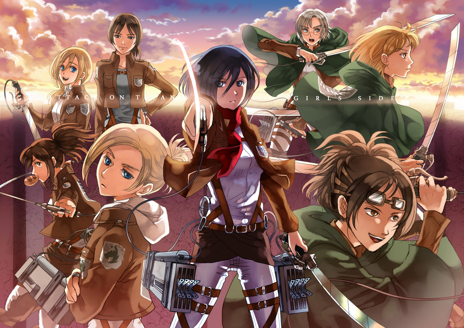 Browse Anne Mikasa Ackerman Annie Leonhardt Character Attack on Titan 1600x1131