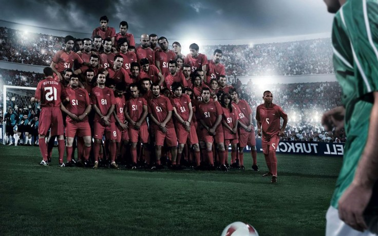 Turkey National Soccer Team Advertisement HD Wallpaper Desktop 736x459