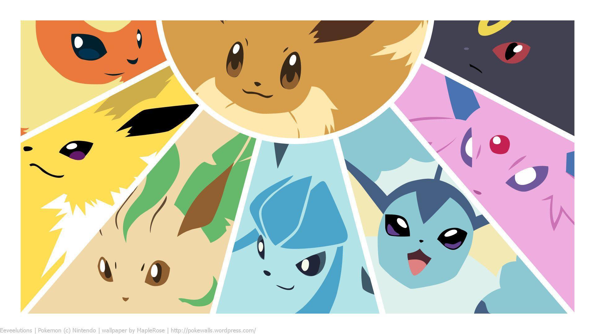 Pokemon Eevee Wallpapers 1920x1080