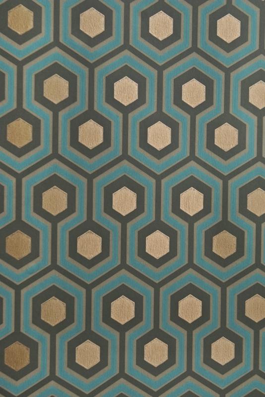 Hicks Hexagon Wallpaper Small Geometric Design In 534x801