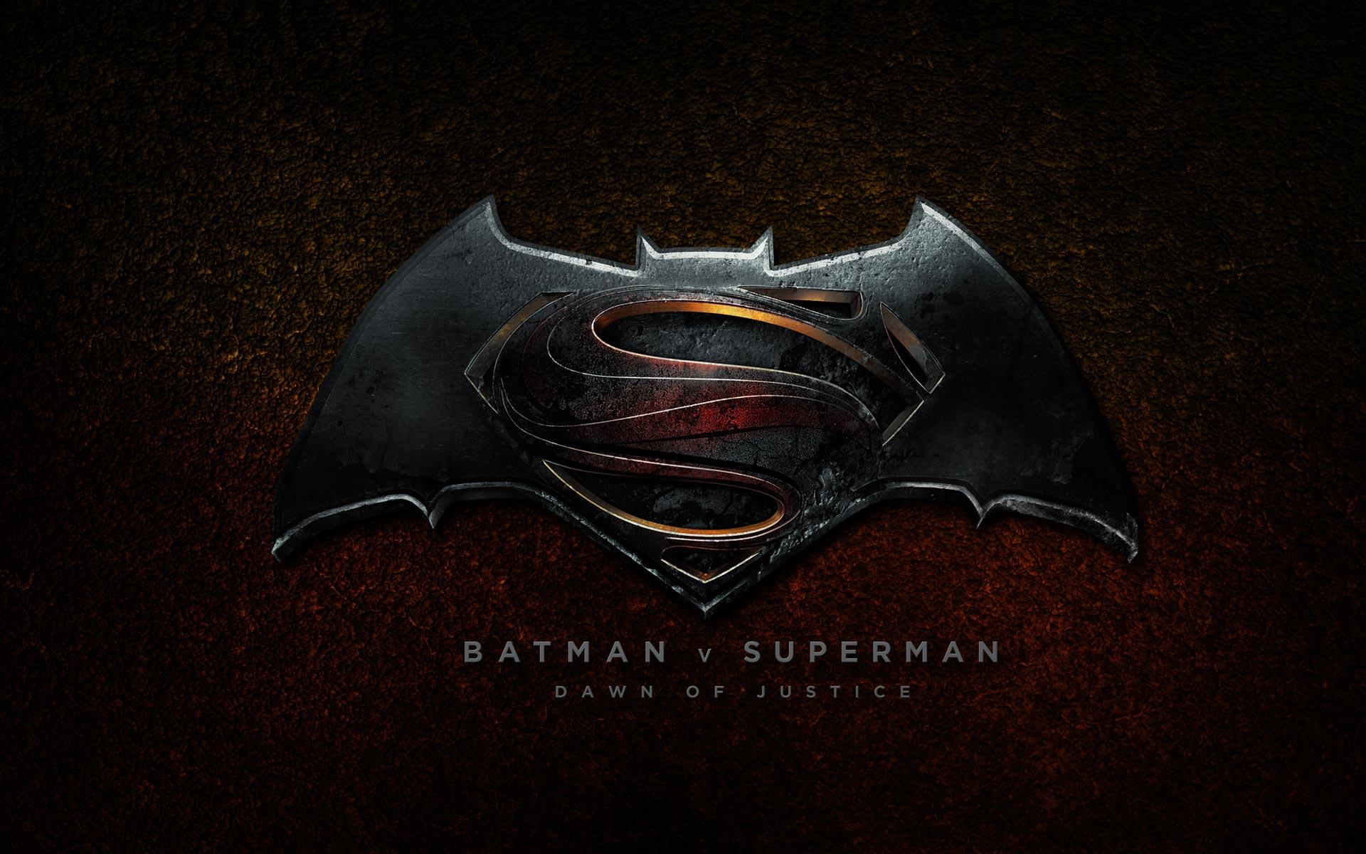 Batman vs Superman Dawn of Justice 2016 Logo Wallpaper HD 1920x1200