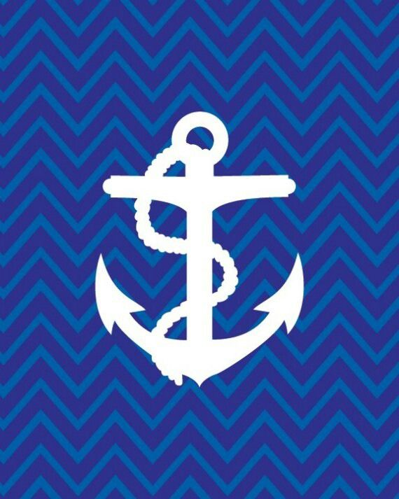 Chevron anchor wallpaper Chevron Pinterest 570x713