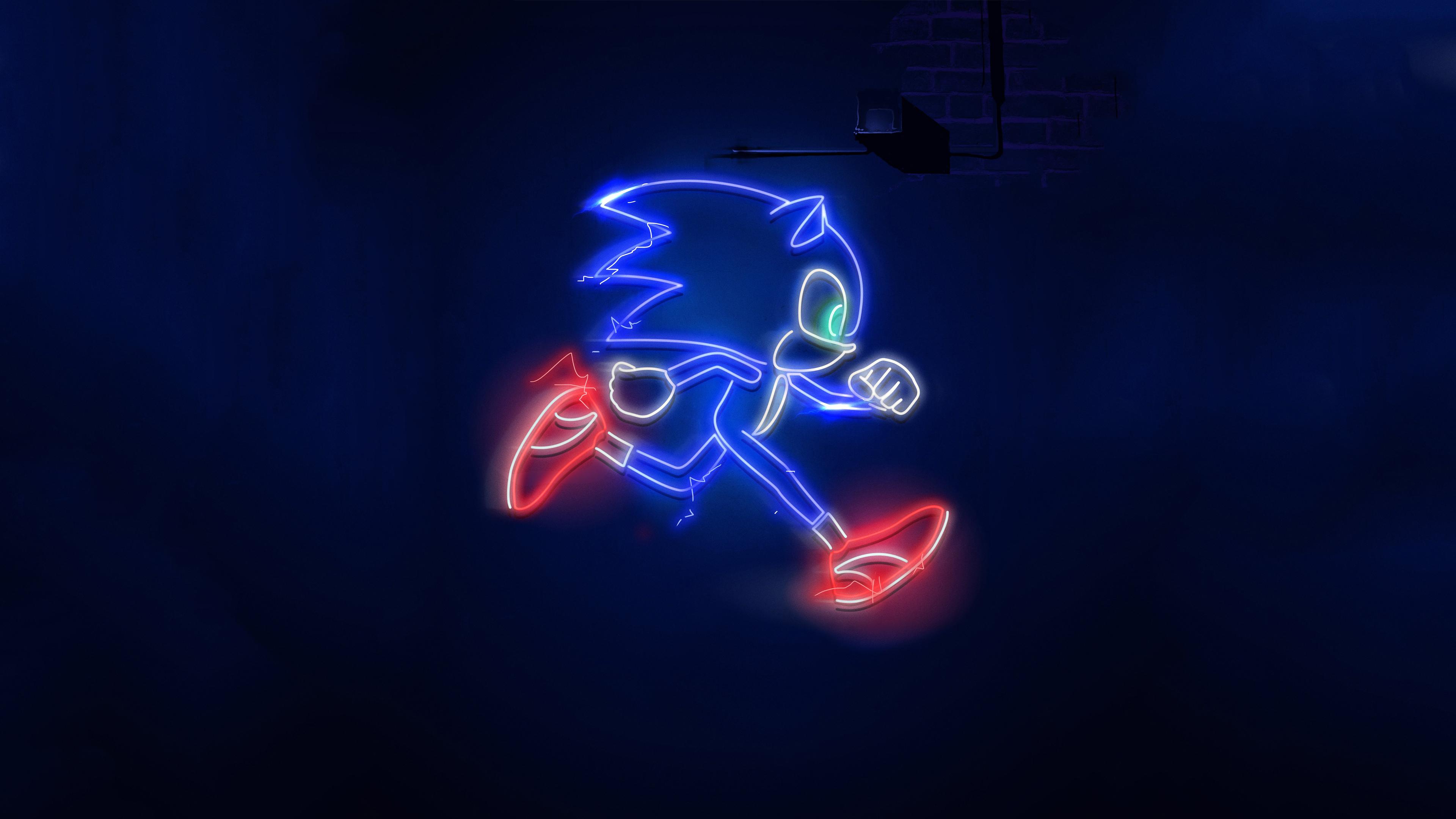 Wallpaper 4k Sonic The Hedgehog Movie 2020 sonic 4k wallpapers 3840x2160