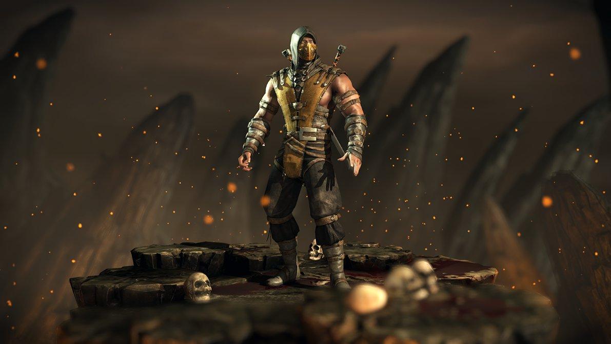 Scorpion   Mortal Kombat XL by Yurtigo 1191x670