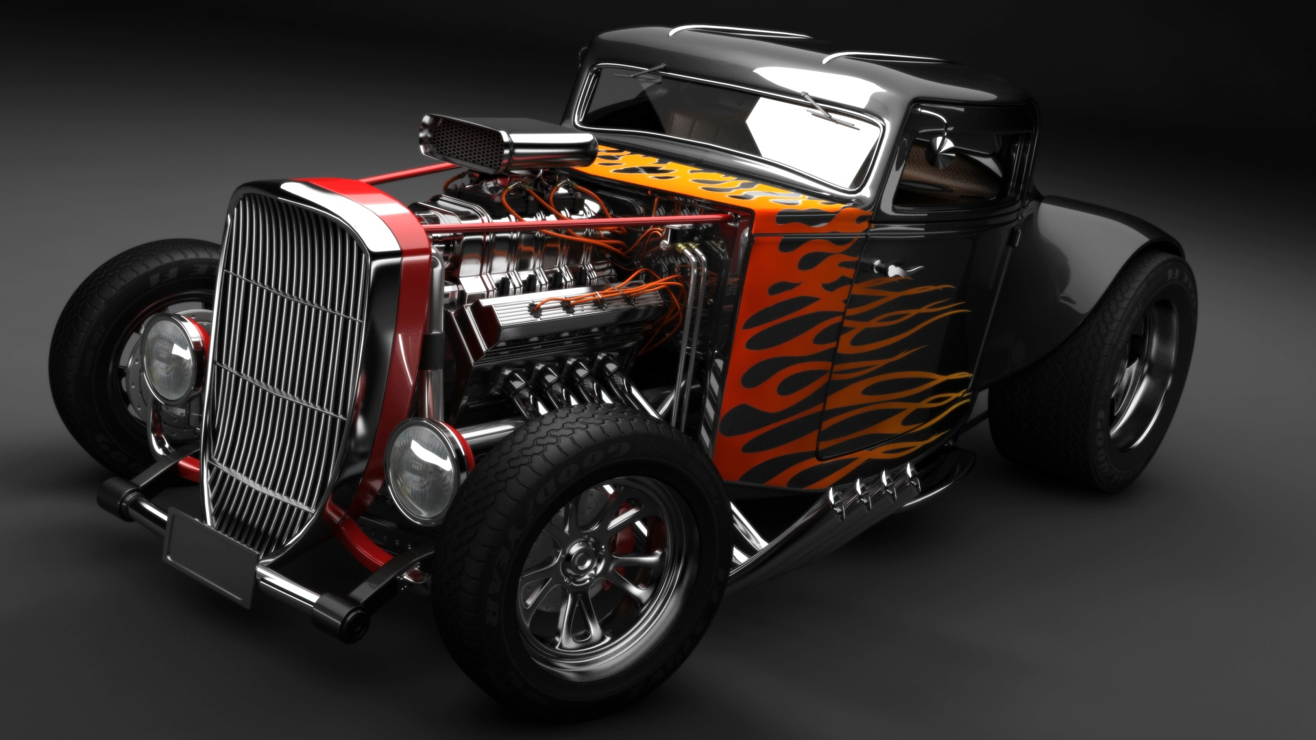 Hot Rod Wallpapers   A Link to the Past   MuscleDrive 1920x1080