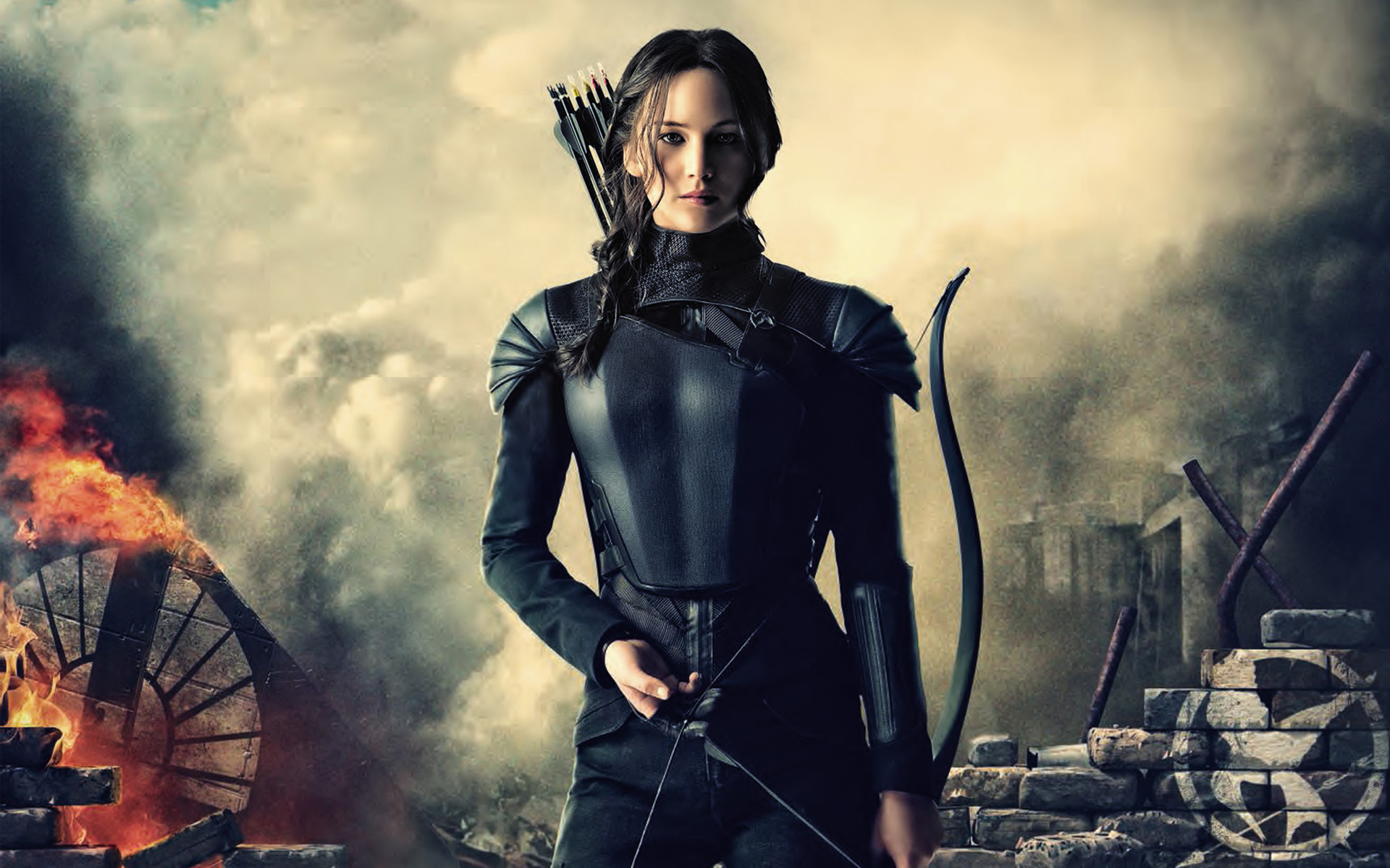 Katniss Hunger Games Mockingjay Wallpapers HD Wallpapers 1920x1200