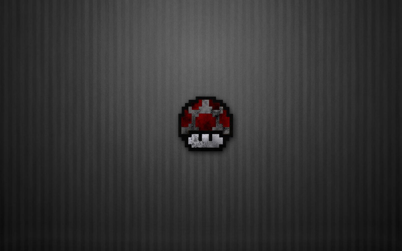 bit Dark Mushroom by Jim103 1440x900