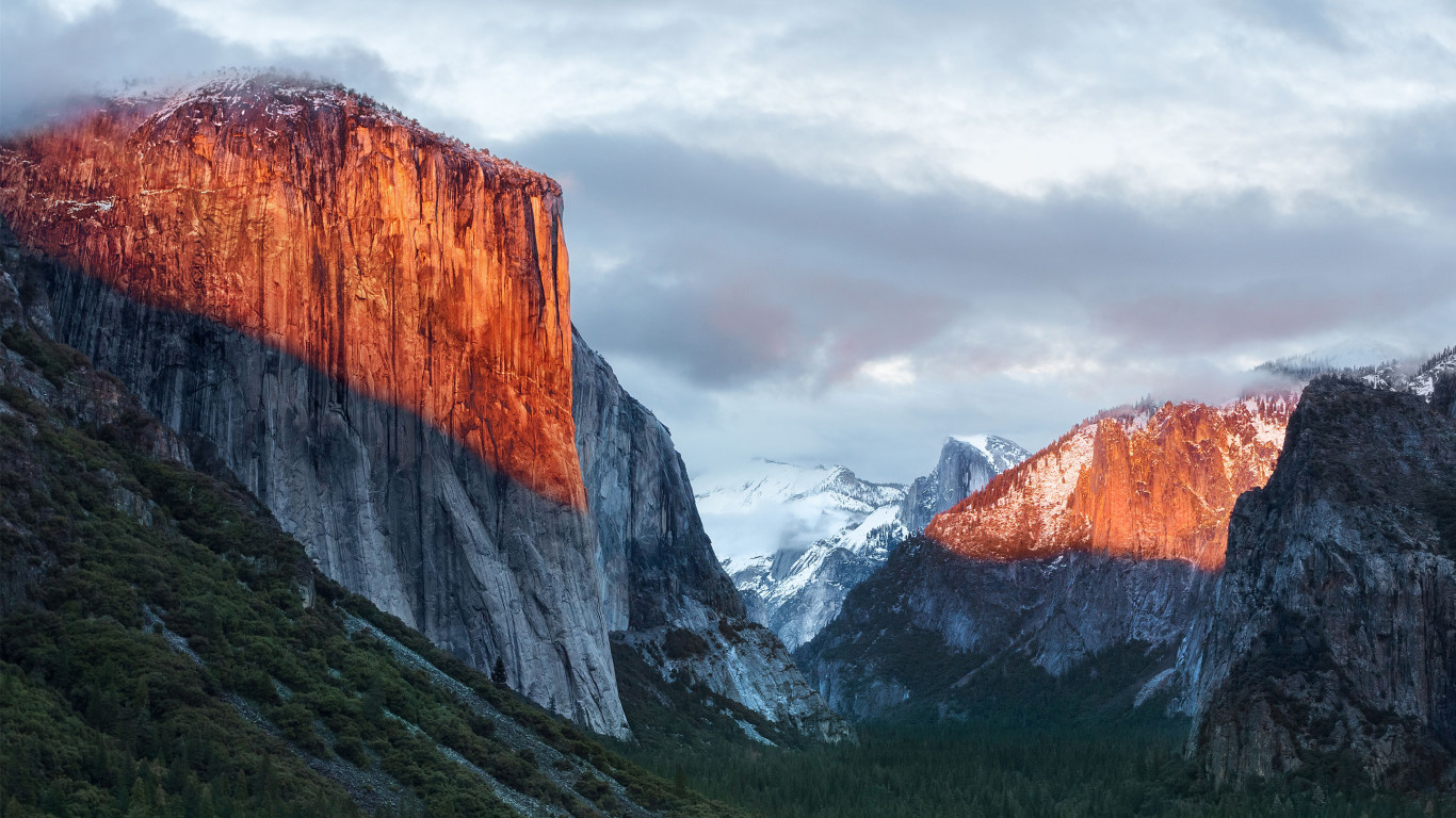 Apple Mac Os X El Capitan HD Wallpaper 6269 1366x768