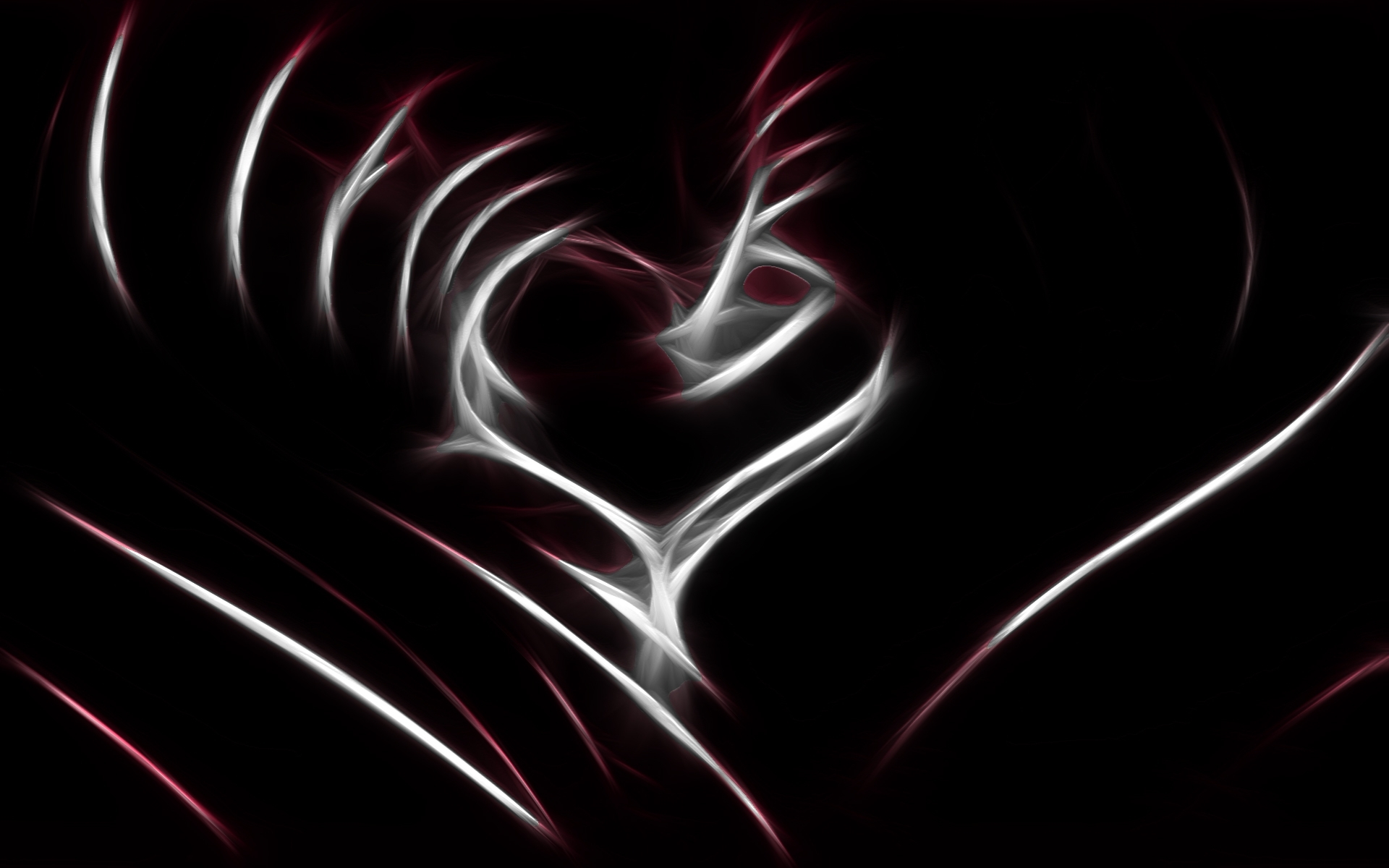 67 Black And White Heart Wallpaper On Wallpapersafari