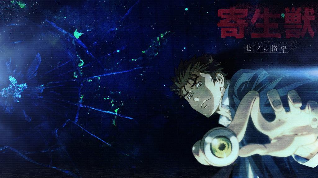 Parasyte Kiseijuu Wallpaper HD Greatest All Time Honeys Anime 1024x576