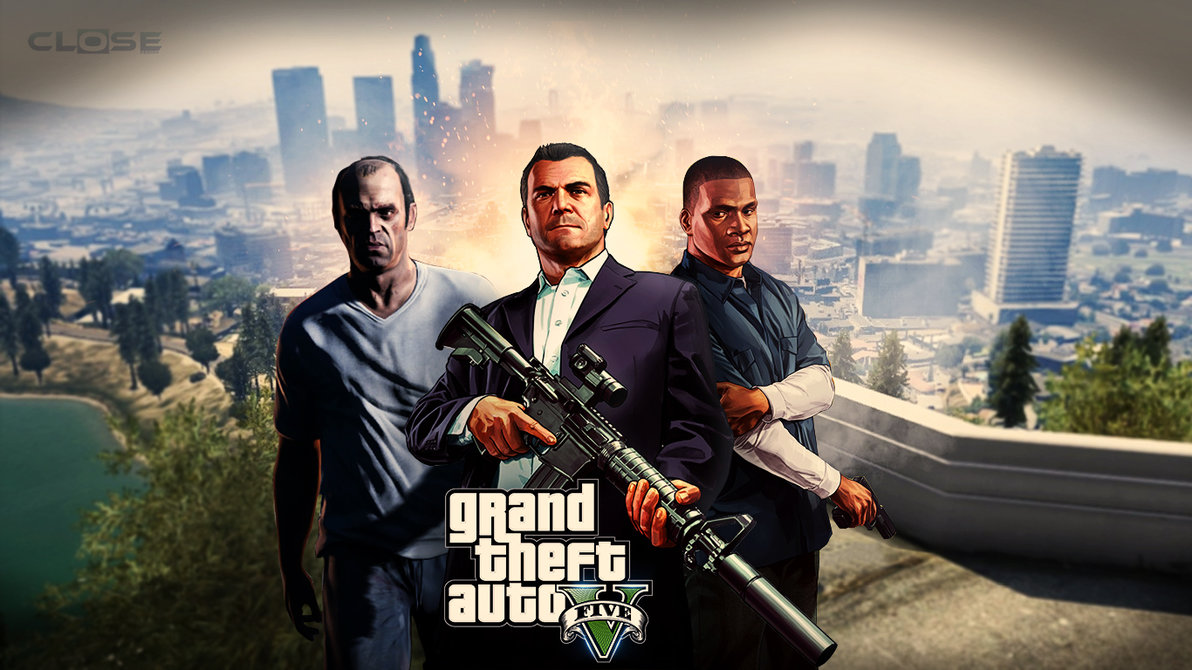 GTA V Wallpaper By CLoSeDesign by CLoSeDesign 1192x670