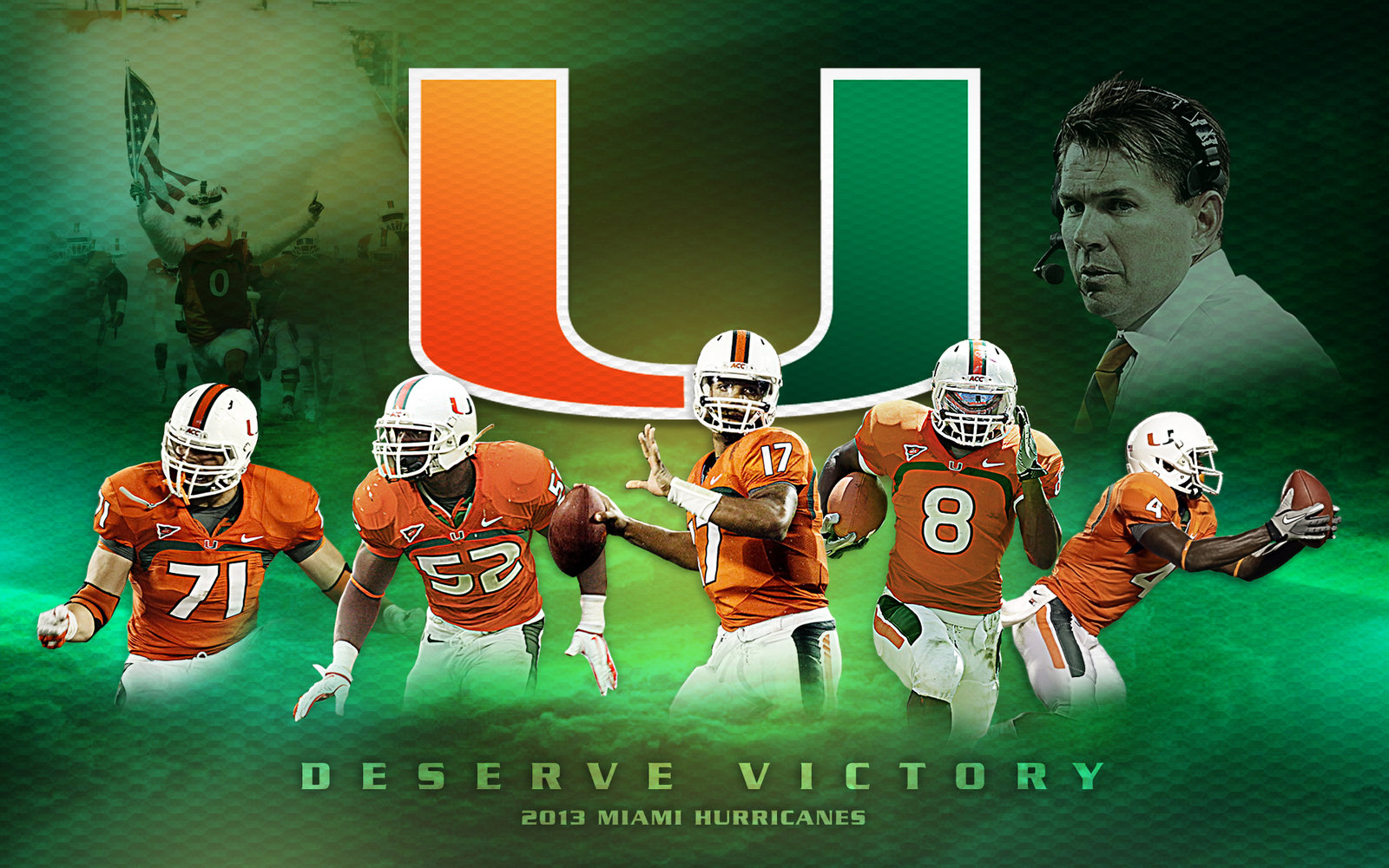BROWSE miami hurricanes wallpaper for android  HD Photo Wallpaper 1600x1000