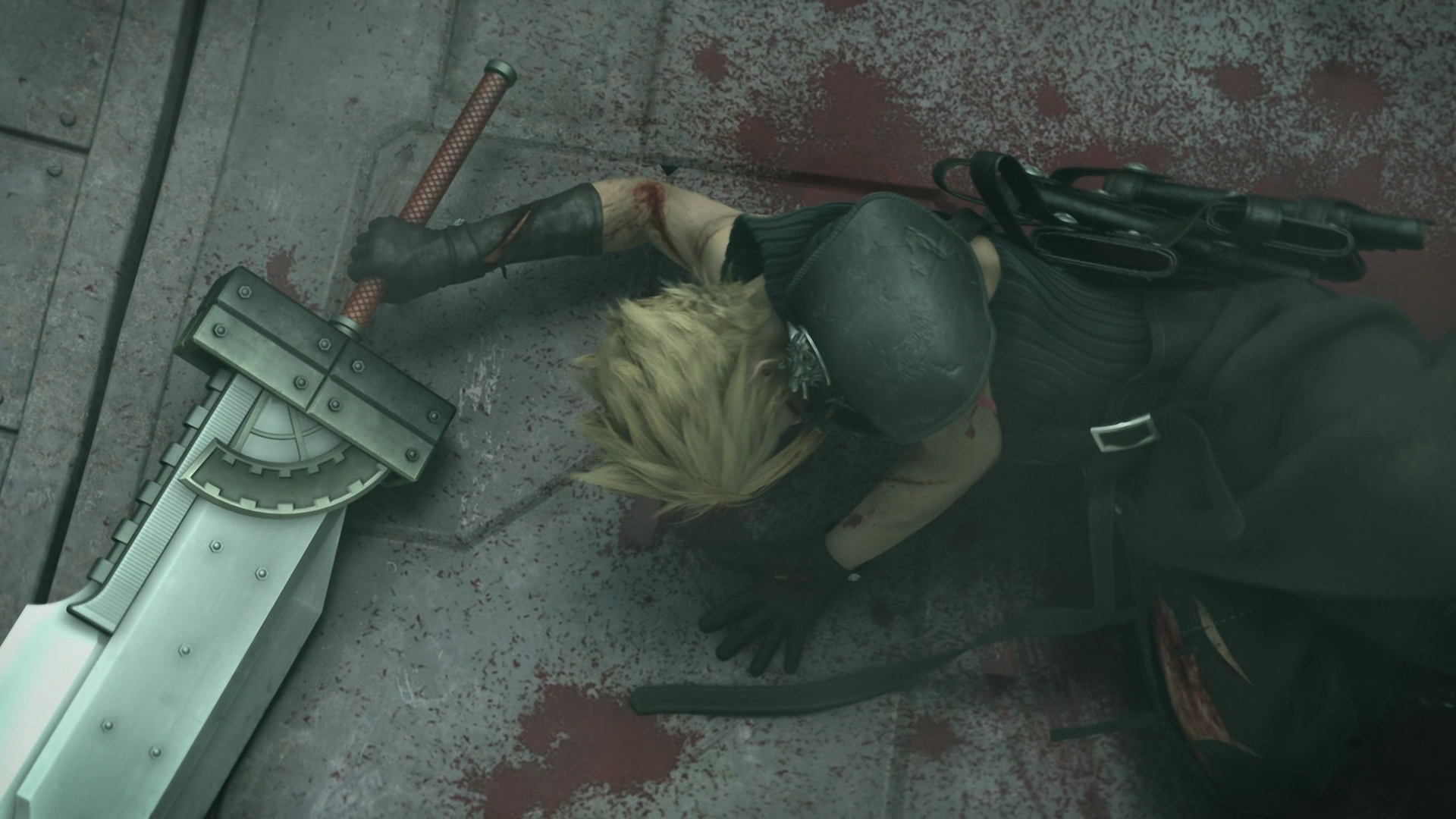 Free Download Cloud Strife Buster Sword 1920x1080 Wallpaper