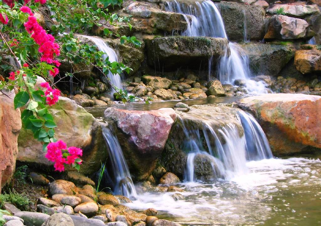 Animated waterfall wallpapers download Toptenpackcom 1024x721
