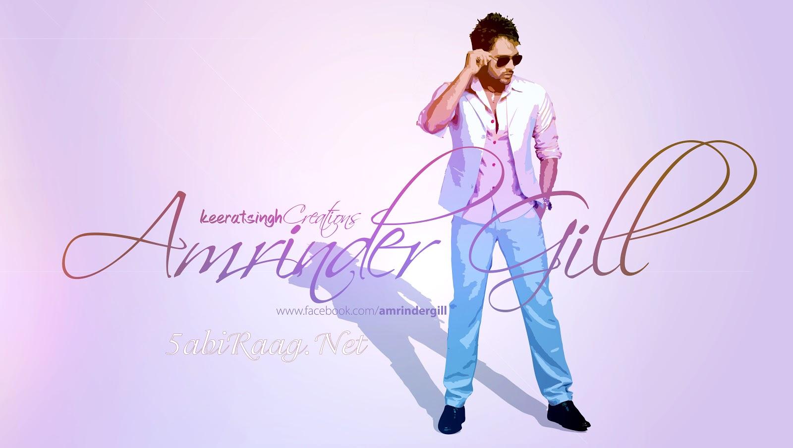 Amrinder Gill Punjabi Singer HD Wallpaper PoPoPicscom 1600x904