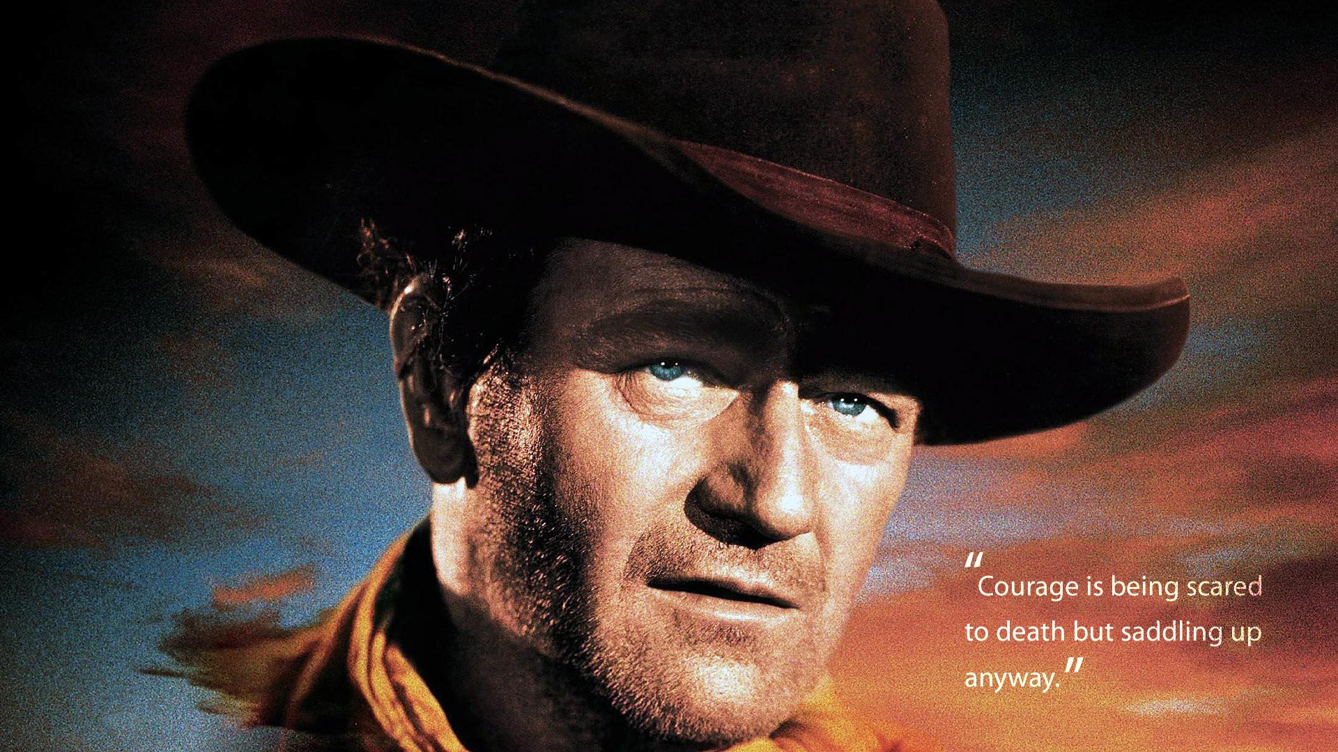 John Wayne Courage Quote HD Wallpaper FullHDWpp   Full HD 1920x1080
